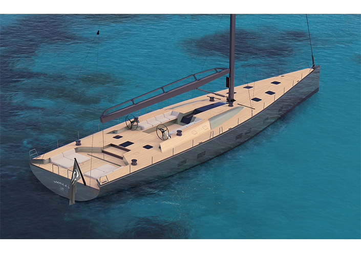 <strong>A new magnificent Wally 101-foot sailing cruiser-racer sold.</strong>