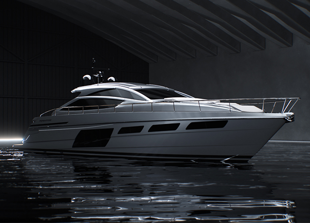 New Pershing 6X: bold by nature.